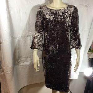 Calvin Klein Dress Size 12, feels like velvet NWT